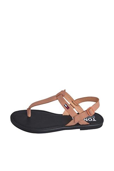 Kadın Turuncu Sandalet Color Block Basıc Thong Sandal EN0EN00908