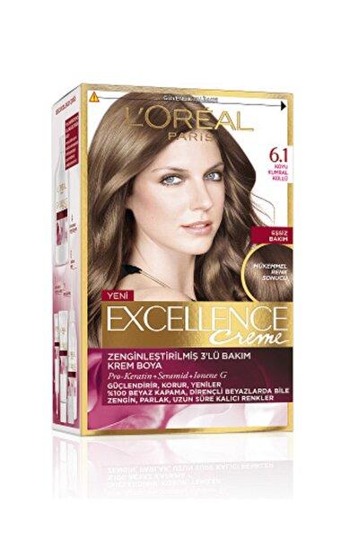 Excellence Creme Saç Boyası 6.1 Koyu Kumral Küllü