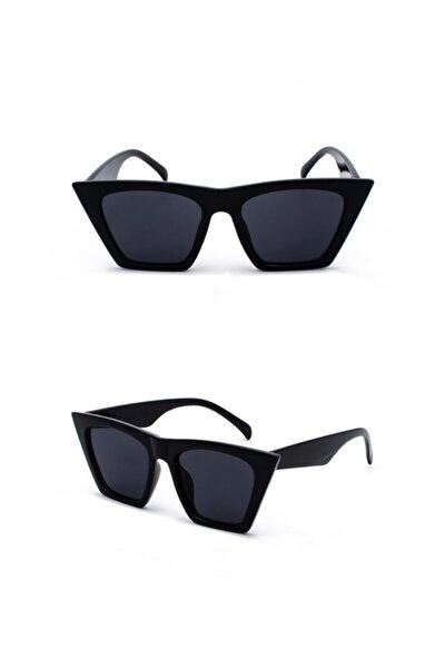 Klasik Siyah Cat Eye Güneş Gözlüğü