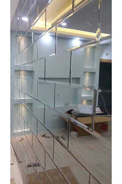 Dekoratif Ayna Tuğla Model Bizoteli Ayna Duvar Aynası