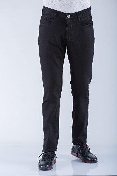 Erkek Siyah Pamuklu Pantolon