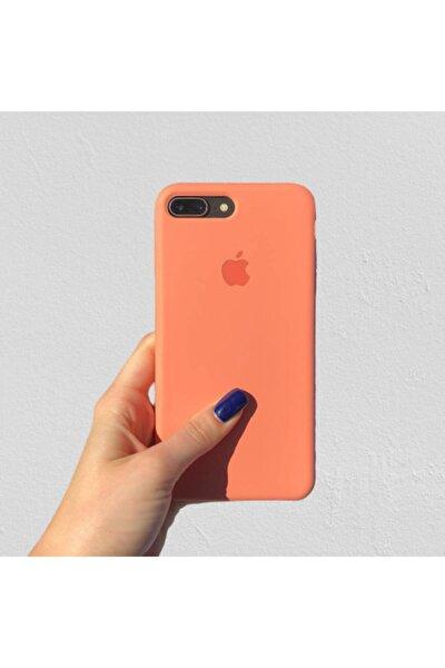 Iphone 7 Plus Papaya Silikon Telefon Kılıfı