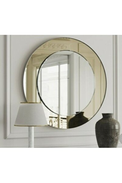 Dekoratif Yuvarlak Konsol Dresuar Lavabo Aynası 60 cm