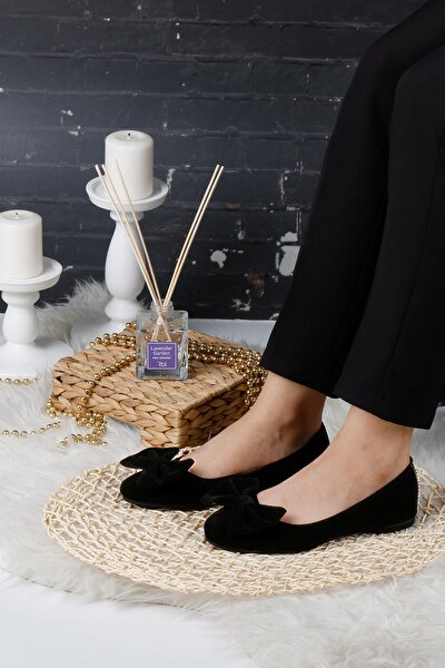 Siyah Kadın Ev Babeti Rahat Günlük Ayakkabı