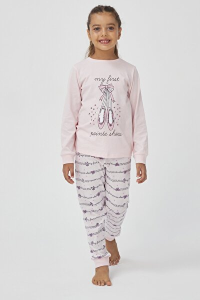 INCI Kız Çocuk Shoes 2Li Pijama Takımı