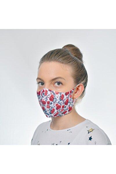 Yıkanabilir Baskılı Maske