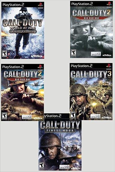 Call Of Duty Serisi Ps2 Oyun