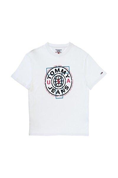 Erkek Circle Logo T-Shirt DM0DM07852