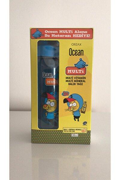 Ocean Multi Vitamin Multi Mineral Balık Yağı Ballı-portakal Aromalı Takviye Edici Şurup 150 ml