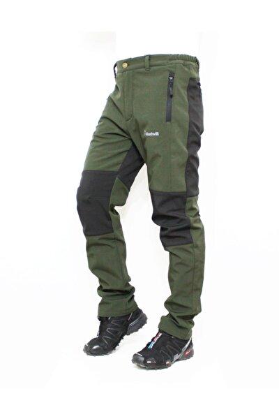 Erkek Haki Outdoor Kışlık Softshell Pantolon