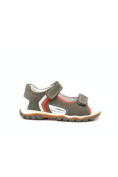 2332 Erkek Çocuk Hakiki Deri Sandalet