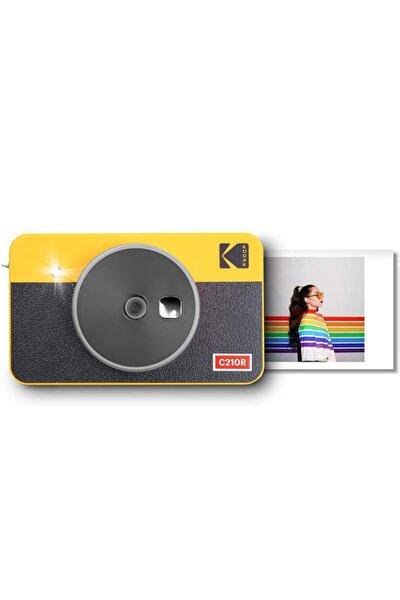 Mini Shot Combo 2 Retro - Anında Baskı Dijital Fotoğraf Makinesi - Sarı