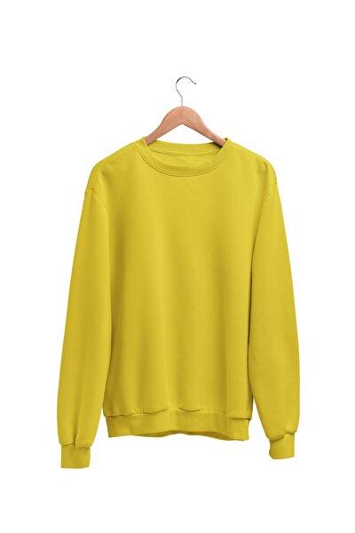 Kadın Sarı Wear Sweatshirt