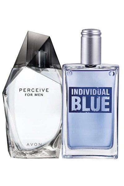 Perceive Ve Individual Blue Edt 100 ml Erkek Parfüm Set