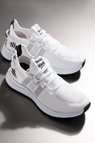 Unısex Beyaz Spor Ayakkabı