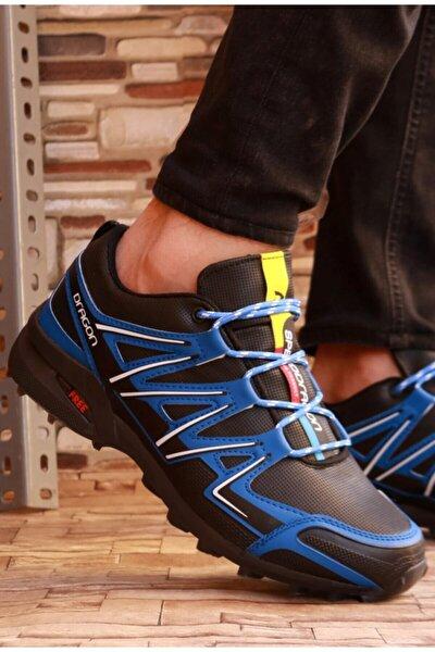 Erkek Yüzeyi Kapalı Kaymaz Taban Kışlık Spor Ayakkabı 66