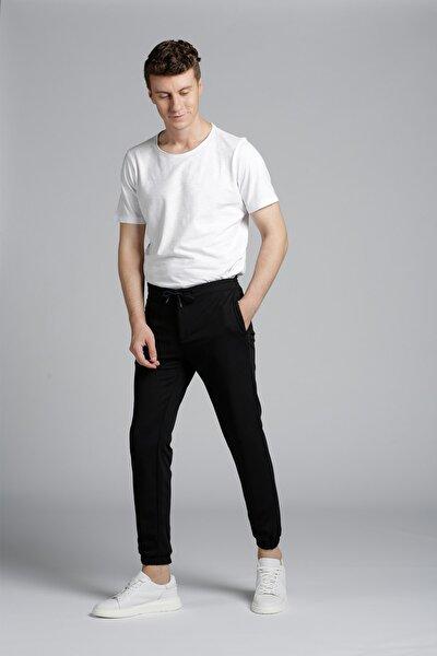 Erkek Lacivert Jogger Pantolon
