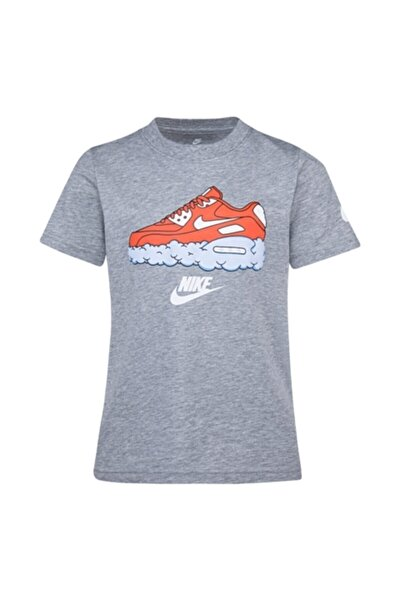Erkek Çocuk Gri Spor T-Shirt 86g233-042