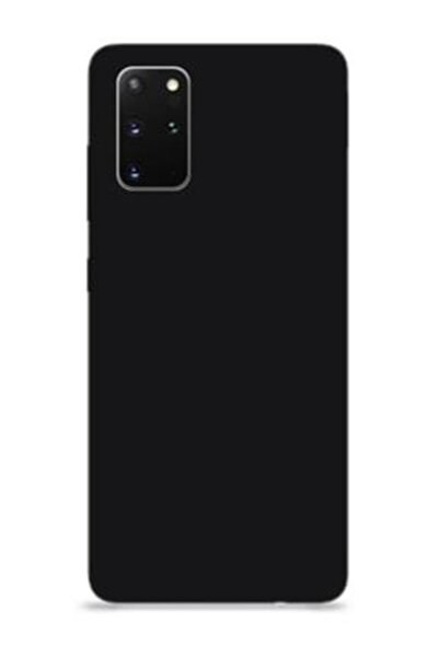 Samsung Galaxy S20 Içi Kadife Lansman Silikon Kılıf Siyah