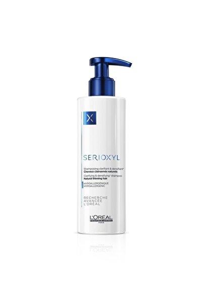 Serioxyl Denser Hair Incelmiş Doğal Saçlar Için Hacimlendirici Ve Arındırıcı Şampuan 250 ml