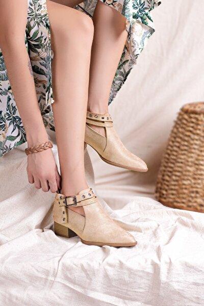 Kadın Ten Günlük Ayakkabı