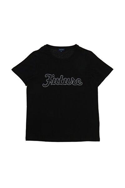 Kadın Siyah T-Shirt 504529509