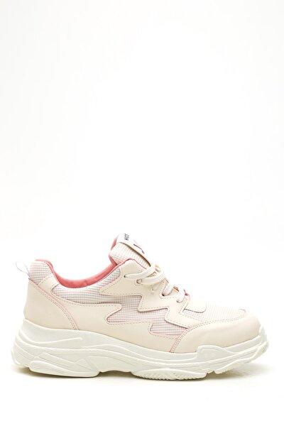 Kadın Bej Pudra  Sneaker