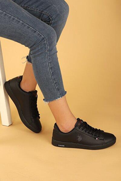 Kadın Siyah Günlük Spor Ayakkabı