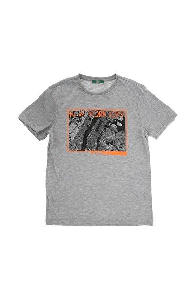 Erkek Gri T-Shirt 504499206