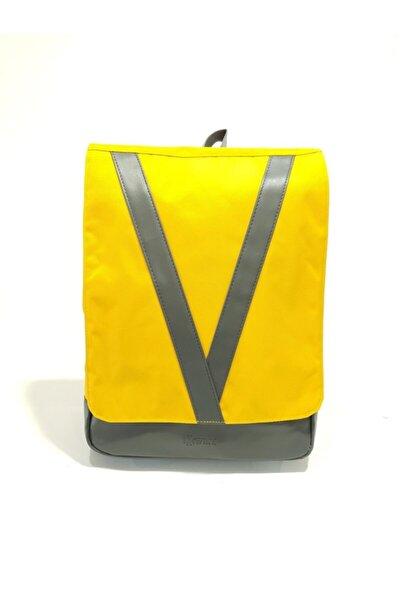 Sırt Çantası,15 Inch Laptop, 355v Sarı (üniseks)