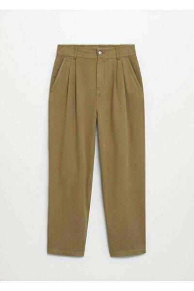 Kadın Haki Pantolon