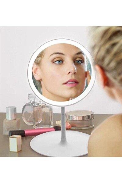 Dokunmatik Ayarlanabilir Led Işıklı Makyaj Aynası Beyaz
