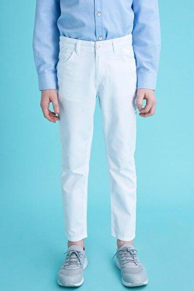Regular Fit Basic 5 Cepli Dokuma Pantolon