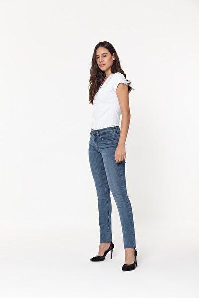 Kadın Mavi Mary Hoppy Mavi Jeans