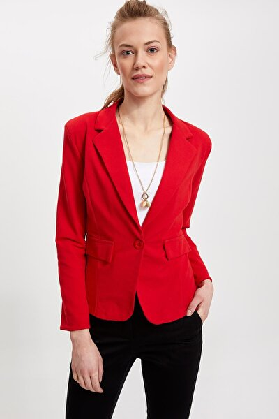 Kadın Blazer Ceket L1969AZ.19SM.RD275