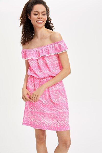 Carmen Yaka Pareo Elbise