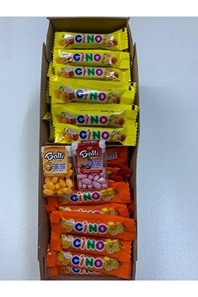 Cino Çikolata 120 Adet + 2 Adet Draje Şeker Candy Point