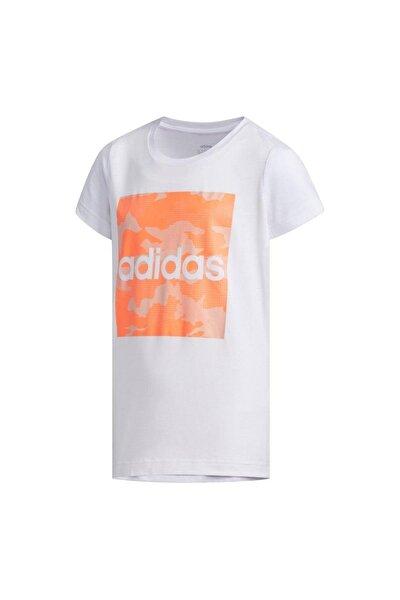 Çocuk Beyaz Yg Camo Tee  Spor T-Shirt