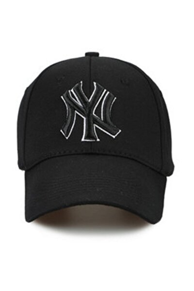 NY New York Yankees Siyah Şapka P-080