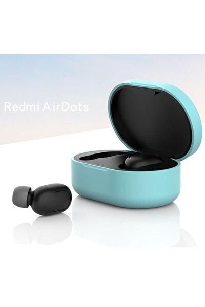Redmi Airdots Için Silikon Koruma Kılıfı - Su Yeşili