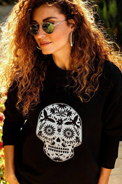 Black Skull Sweat