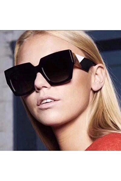 Kalın Çerçeve Bayan Güneş Gözlüğü Fendi Modeli Güneş Gözlüğü Yeni Sezon Kadın Güneş Gözlüğü