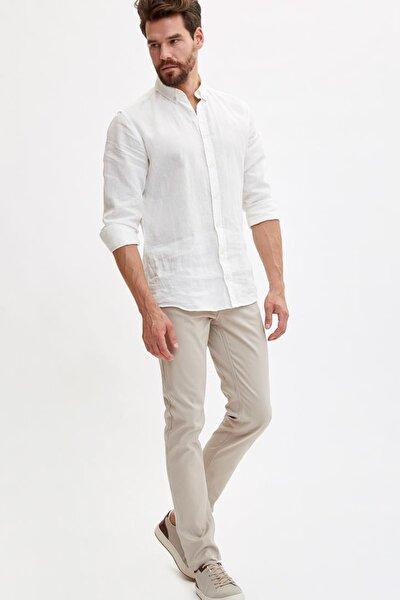 Erkek Bej Slim Fit Pantolon K6963AZ.19SM.BG191