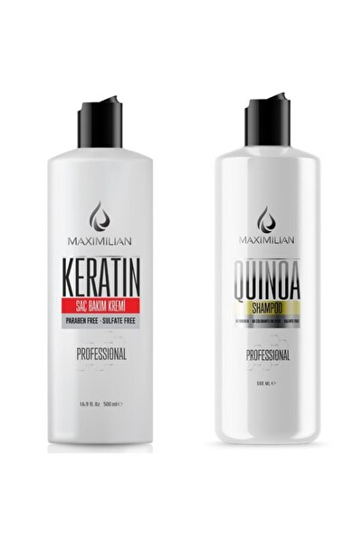 Glutensiz Tuzsuz Şampuan Keratin Bakım Kremi Nemlendirici Şampuan Ve Keratinli Saç Bakım Kremi