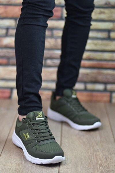 Unısex Haki Spor Ayakkabı