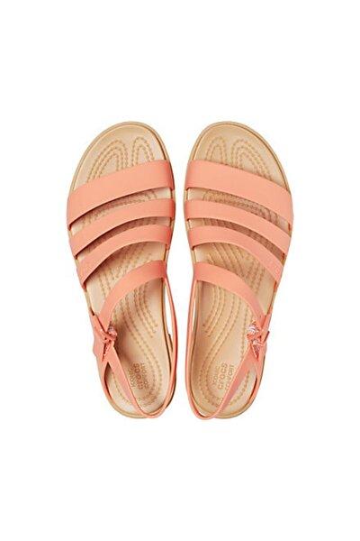Kadın Turuncu Tulum Sandalet