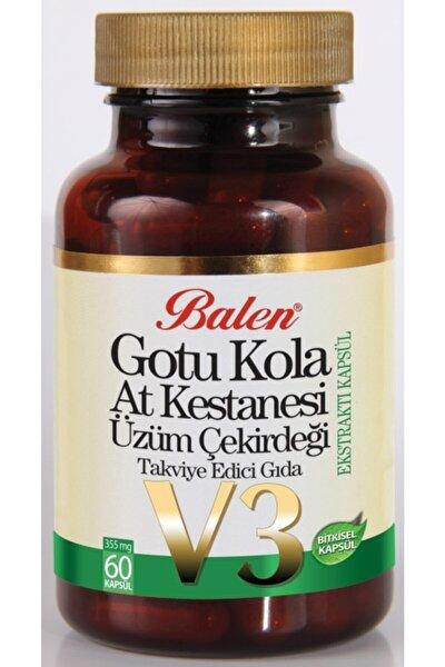 Gotu Kola & At Kestanesi&üzüm Çekirdeği Ekstraktı Kapsül