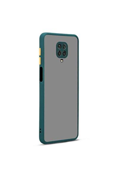 Redmi Note 9 Pro Renkli Silikon Kılıf (parmak Izi Yapmaz Leke Tutmaz) Koyu Yeşil