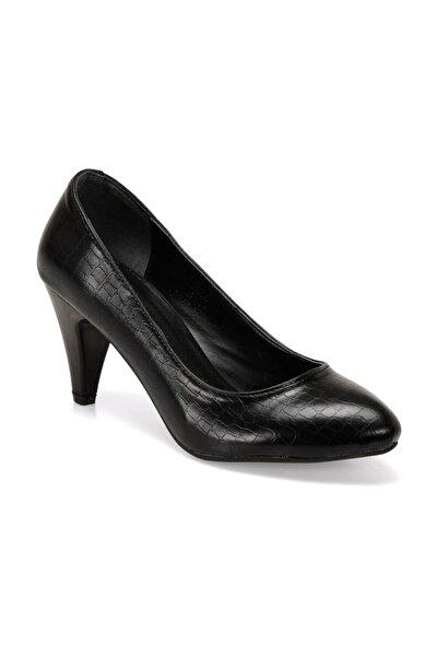 309022KZ Siyah Kadın Topuklu Ayakkabı 100562452