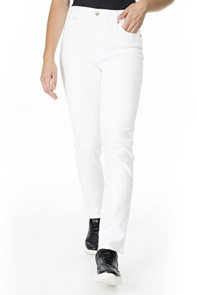 Kadın Beyaz 724 Jeans  Kot Pantolon 18883